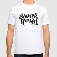 Super Nerd Mens Fitted Tee Ash Grey SMALL