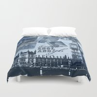 Anglophile Love Duvet Cover