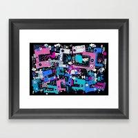 Lomonstro Framed Art Print