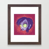 Living Dead Girl Framed Art Print