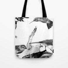 A Volery of Birds Tote Bag