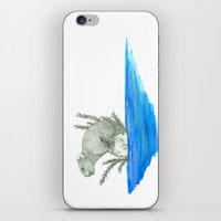 PIKA IN AN ISLAND iPhone & iPod Skin