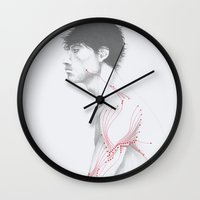 Circuitry Surgery 1 Wall Clock