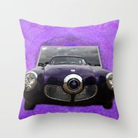 Studebaker Throw Pillow