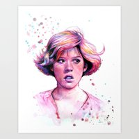 The Princess Art Print