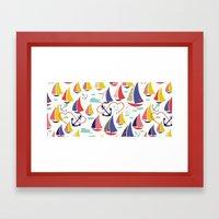 Nautical and Nice! Framed Art Print