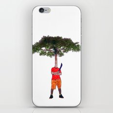 Warrior tree iPhone & iPod Skin
