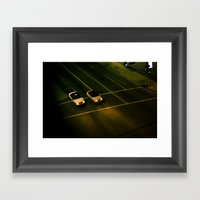 Toy Cars Framed Art Print