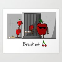 Break Out Art Print