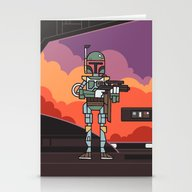 EP5 : Boba Fett Stationery Cards
