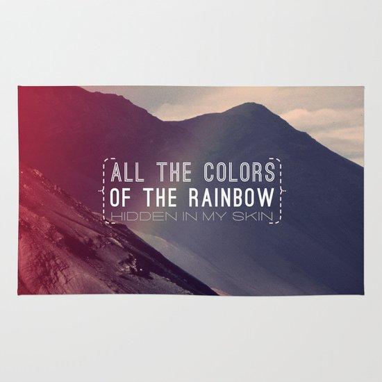 Rainbow Area & Throw Rug