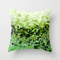 :: Jungle Compote :: Throw Pillow