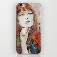 Maybe Portrait iPhone & iPod Skin
