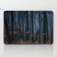 Red Feather Dance  (colo… iPad Case