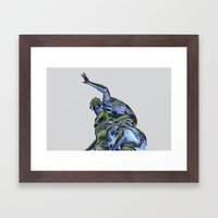 Goddess of Versailles Framed Art Print