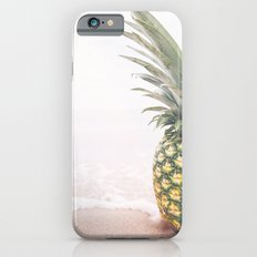 Pineapple at the Beach iPhone 6 Slim Case