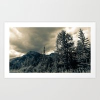 The Mountain Pass Art Print