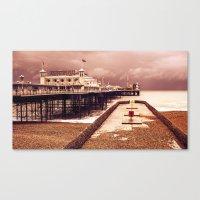 Brighton's Grand Pier  Canvas Print