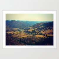 Cherokee Natural Area Art Print