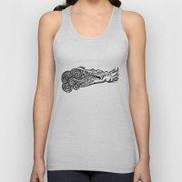 crocodile Unisex Tank Top