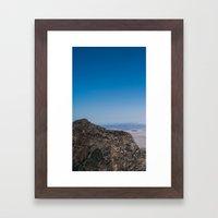 View 1 Framed Art Print