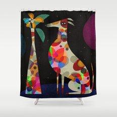 HOUND & VASE Shower Curtain