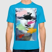 Composition 496 Mens Fitted Tee Teal SMALL