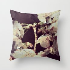 Blossoms Breaking Throw Pillow