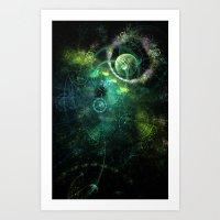 Feeling Spacey Art Print