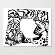 Tiger Tiger Canvas Print