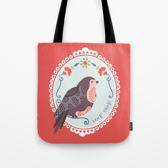 Signorina Pettirosso Tote Bag