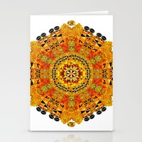 Patterned Sun Stationery Cards