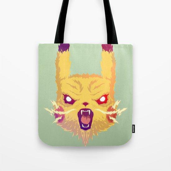 Voltage Pikachu Tote Bag