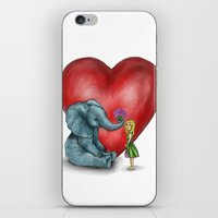Pachyderm's  Bouquet iPhone & iPod Skin