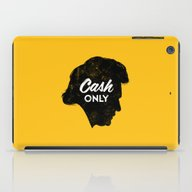 Cash Only (Gold) iPad Case