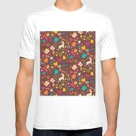 Christmas Pattern 02 Mens Fitted Tee White SMALL