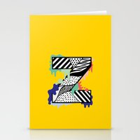 Z for …. Stationery Cards