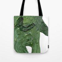 El Monstro Verde Tote Bag
