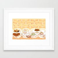 Dutch Sweet Tea Framed Art Print