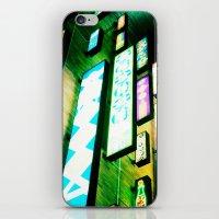 Neon Glow iPhone & iPod Skin