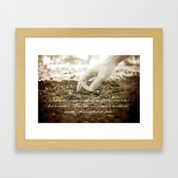 Matt 13:23 Framed Art Print