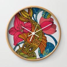 Koi Palloi Wall Clock