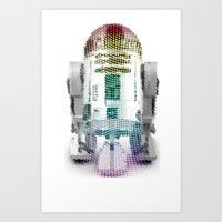 UNREAL PARTY 2012 R2D2 R… Art Print