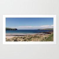 Shetland Isles Art Print