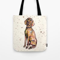 Hungarian Vizsla Dog Tote Bag