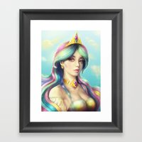 Celestia Framed Art Print