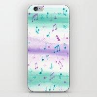 #102. JENNI (Musical Notes) iPhone & iPod Skin