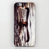 Whale tail. iPhone & iPod Skin