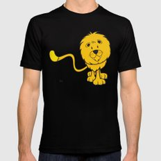 funny zodiac/leo SMALL Mens Fitted Tee Black