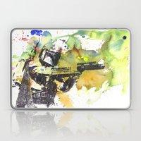 Boba Fett Firing Off Gre… Laptop & iPad Skin